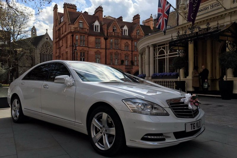 london luxary wedding car