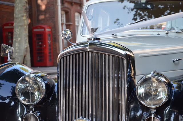 classic wedding car hire Bentley Mark VI