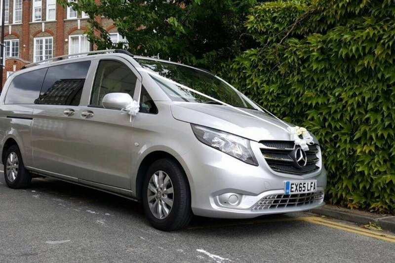 Mercedes Benz V class 7 for hire london