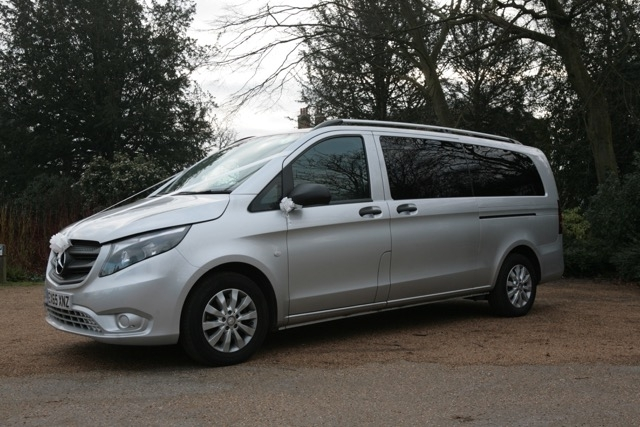 Mercedes Benz V Class 8 seats - Lux Wedding Car Hire