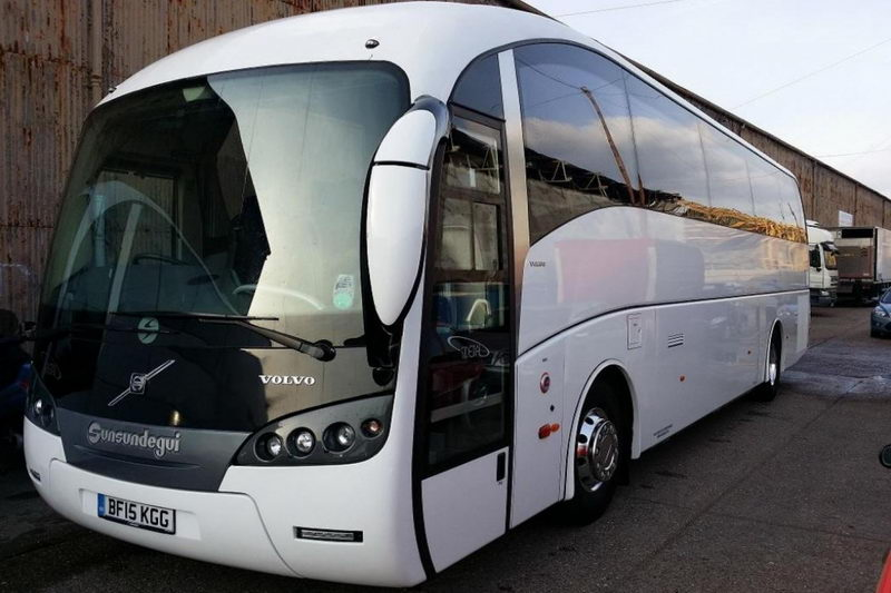 Volvo Coach White