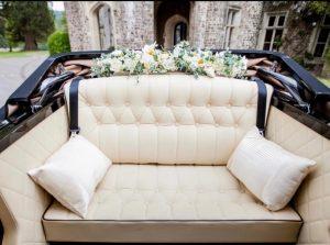 Vintage Style Regent Landaulette Convertible- interior