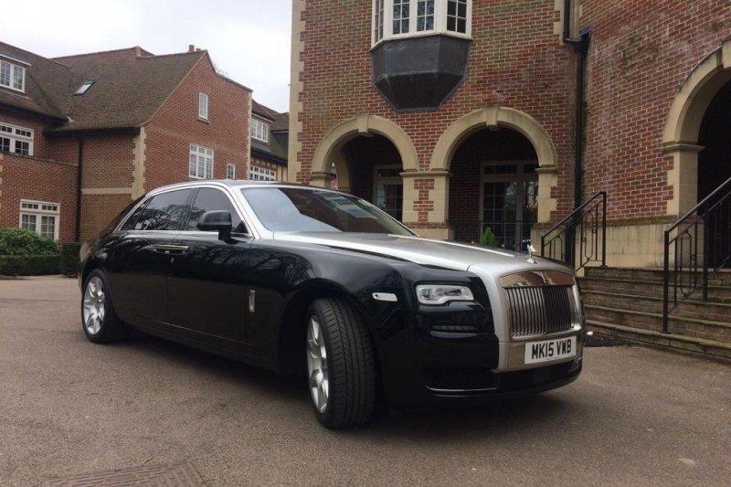 Rolls Royce Ghost Lux Wedding Car Hire