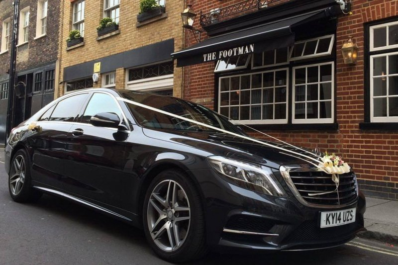 wedding cars to rent in london