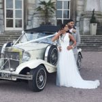 wedding day vintage style car rental