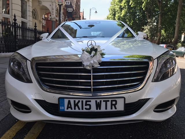 Mercedes S Class 350 luxury wedding car