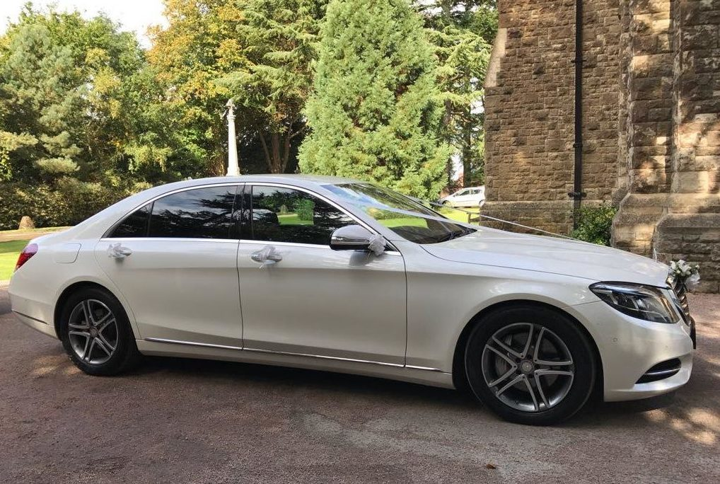 Mercedes S Class 350 AMG Limo White
